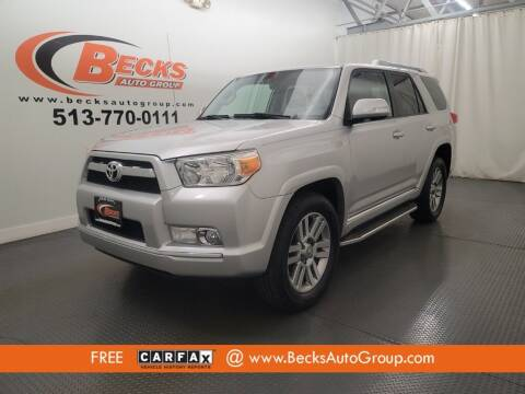 2011 Toyota 4Runner for sale at Becks Auto Group in Mason OH