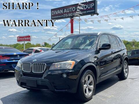 2011 BMW X3 for sale at Divan Auto Group in Feasterville Trevose PA