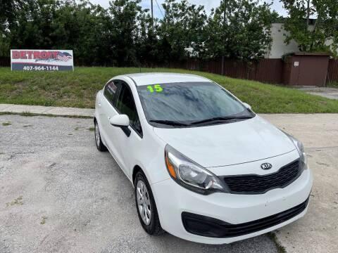 2015 Kia Rio for sale at Detroit Cars and Trucks in Orlando FL