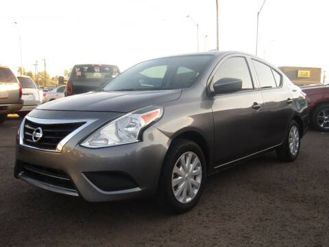 2018 Nissan Versa for sale at More Info Skyline Auto Sales in Phoenix AZ