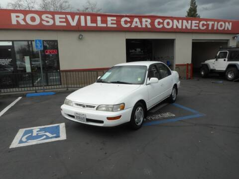 1996 Toyota Corolla for sale at ROSEVILLE CAR CONNECTION in Roseville CA