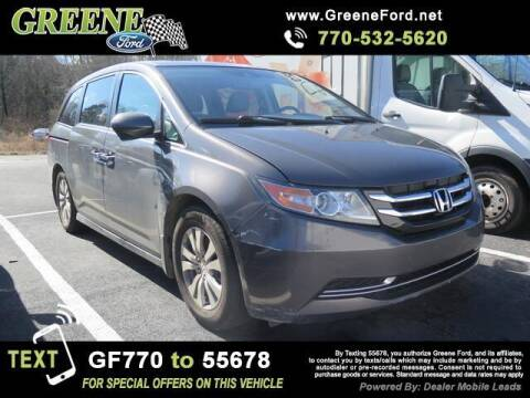 2015 Honda Odyssey for sale at Nerd Motive, Inc. - NMI in Atlanta GA