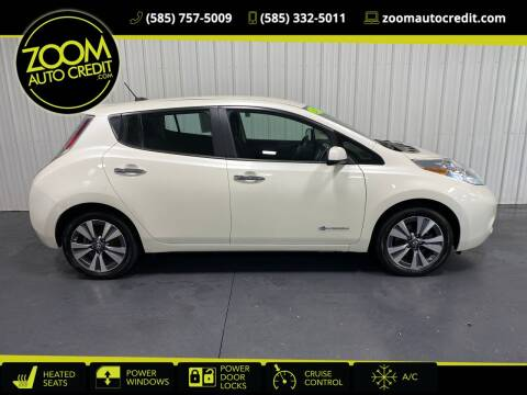 2017 Nissan LEAF for sale at ZoomAutoCredit.com in Elba NY