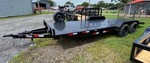 2021 HD Steel Floor Car hauler for sale at TINKER MOTOR COMPANY in Indianola OK