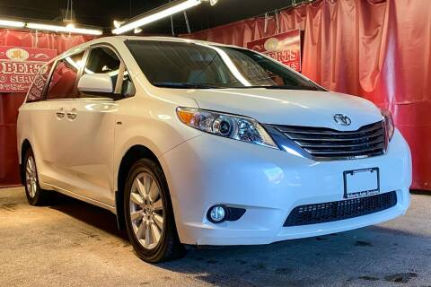 2017 Toyota Sienna for sale at Roberts Auto Services in Latham NY