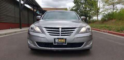 2012 Hyundai Genesis for sale at VIking Auto Sales LLC in Salem OR