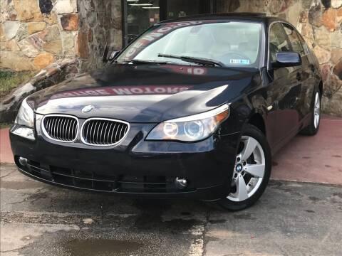 2007 BMW 5 Series for sale at Atlanta Prestige Motors in Decatur GA