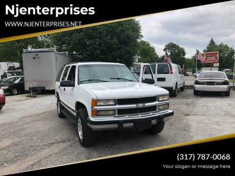 1999 Chevrolet Tahoe for sale at NJ Enterprises in Indianapolis IN