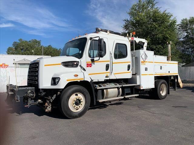 2014 Freightliner 108SD Crew Cab for sale at P & R Auto Sales in Pocatello ID