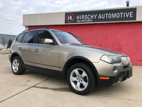 2008 BMW X3 for sale at Hirschy Automotive in Fort Wayne IN