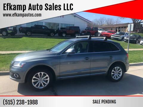2013 Audi Q5 for sale at Efkamp Auto Sales LLC in Des Moines IA