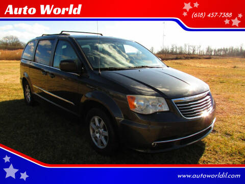 2011 Chrysler Town and Country for sale at Auto World in Carbondale IL