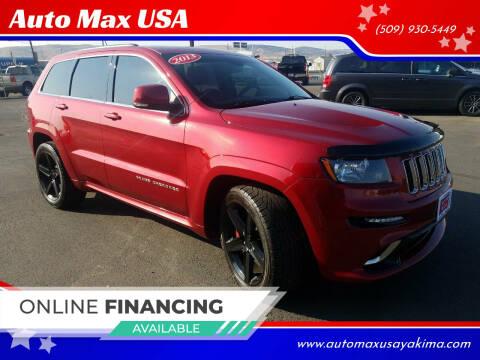 2013 Jeep Grand Cherokee for sale at Auto Max USA in Yakima WA