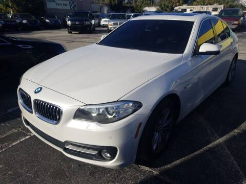 2016 BMW 5 Series for sale at Castle Used Cars in Jacksonville FL