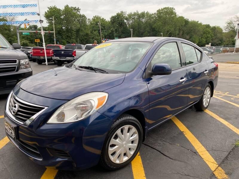 2014 Nissan Versa for sale at WOLF'S ELITE AUTOS in Wilmington DE