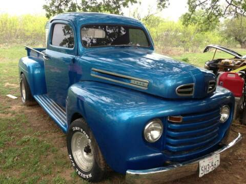 1949 Ford F-100 for sale at CLASSIC MOTOR SPORTS in Winters TX