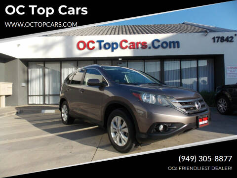 2012 Honda CR-V for sale at OC Top Cars in Irvine CA