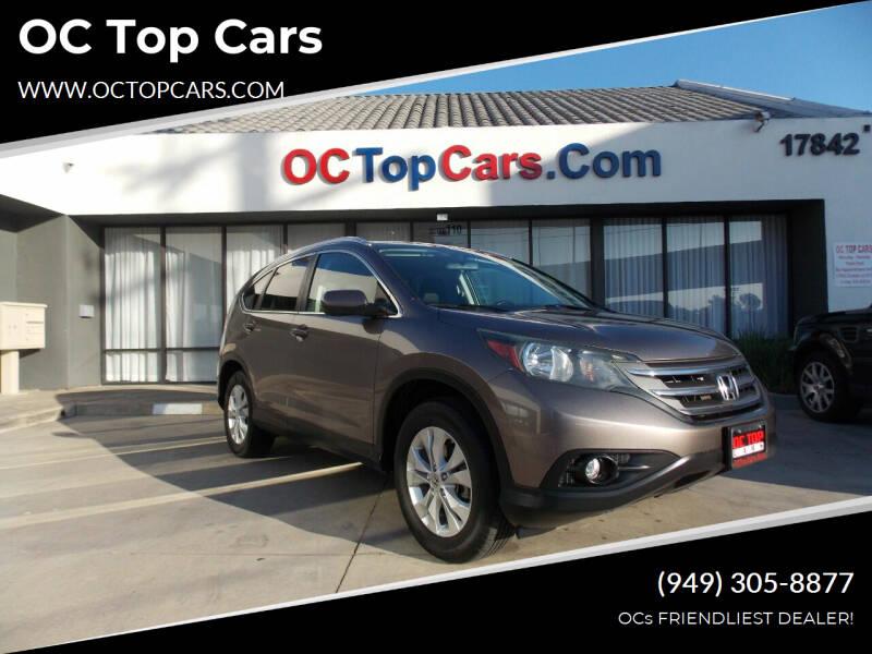 2012 Honda CR-V for sale at OC Top Cars in Irvine CA