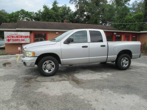 2003 Dodge Ram Pickup 2500 for sale at Auto Liquidators of Tampa in Tampa FL