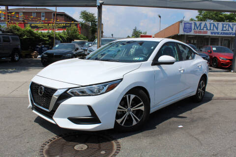 2021 Nissan Sentra for sale at MIKEY AUTO INC in Hollis NY