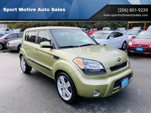2011 Kia Soul for sale at Sport Motive Auto Sales in Seattle WA