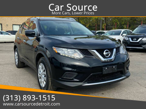 2016 Nissan Rogue for sale at Car Source in Detroit MI