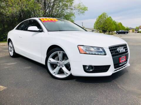 2012 Audi A5 for sale at Bargain Auto Sales LLC in Garden City ID