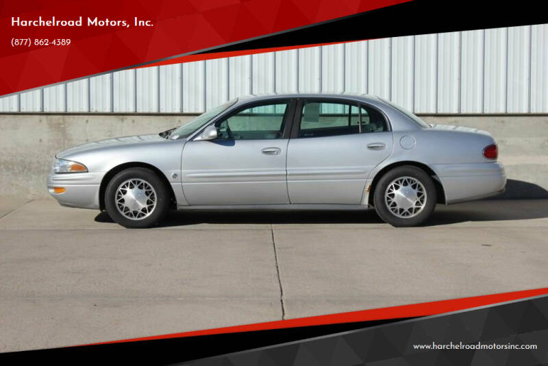 2002 Buick LeSabre for sale at Harchelroad Motors, Inc. in Wauneta NE
