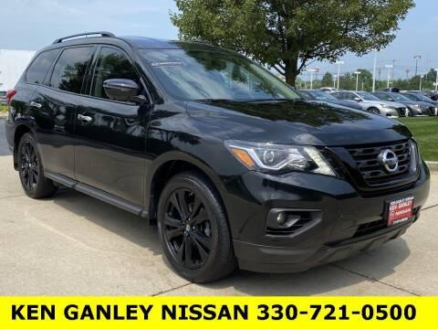 2018 Nissan Pathfinder for sale at Ken Ganley Nissan in Medina OH