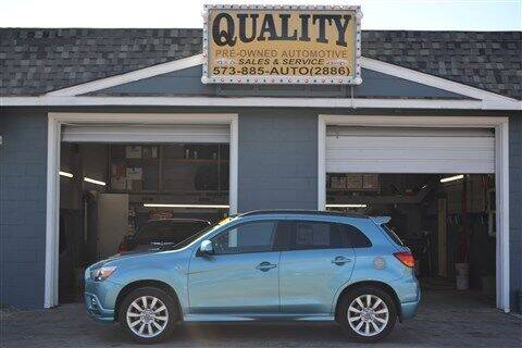 2011 Mitsubishi Outlander Sport for sale at Quality Pre-Owned Automotive in Cuba MO