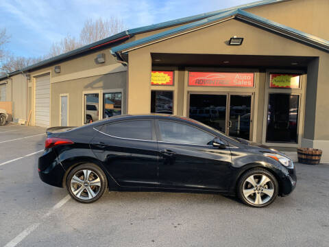 2015 Hyundai Elantra for sale at Advantage Auto Sales in Garden City ID