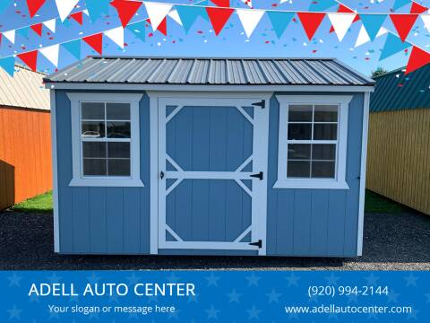 2020 DOUBLE H BUILDINGS 8X12 GARDEN SHED for sale at ADELL AUTO CENTER in Waldo WI