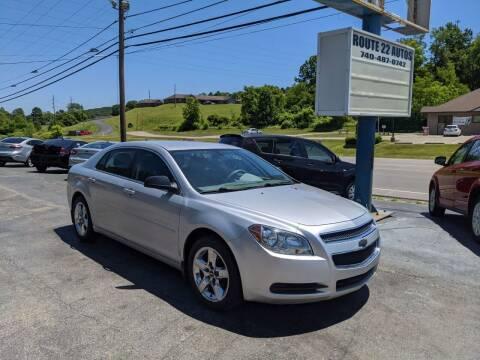 2012 Chevrolet Malibu for sale at Route 22 Autos in Zanesville OH