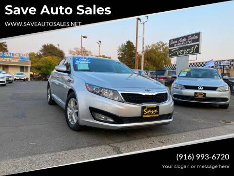 2012 Kia Optima for sale at Save Auto Sales in Sacramento CA