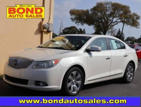 2011 Buick LaCrosse for sale at Bond Auto Sales in St Petersburg FL