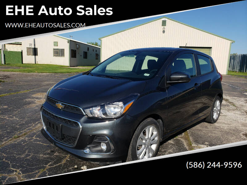 2017 Chevrolet Spark for sale at EHE Auto Sales in Marine City MI
