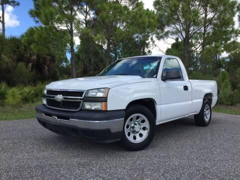 2006 Chevrolet Silverado 1500 for sale at VICTORY LANE AUTO SALES in Port Richey FL