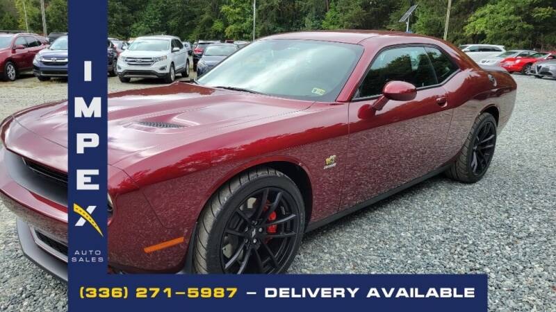2021 Dodge Challenger for sale at Impex Auto Sales in Greensboro NC