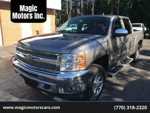 2013 Chevrolet Silverado 1500 for sale at Magic Motors Inc. in Snellville GA