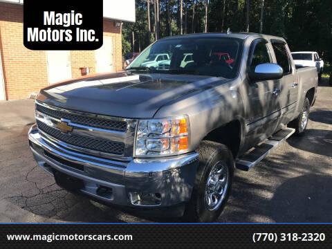 2013 Chevrolet Silverado 1500 for sale at Magic Motors Inc. in Snellville GA