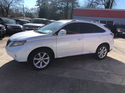 2012 Lexus RX 350 for sale at Baton Rouge Auto Sales in Baton Rouge LA