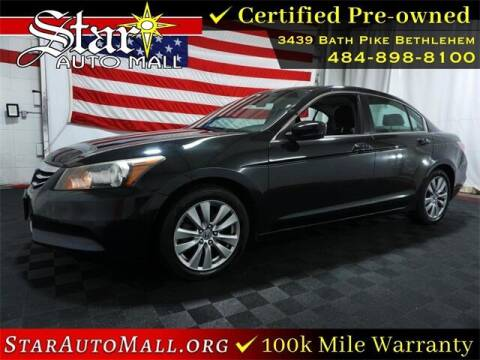 2012 Honda Accord for sale at STAR AUTO MALL 512 in Bethlehem PA