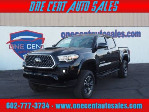 2018 Toyota Tacoma for sale at One Cent Auto Sales in Glendale AZ