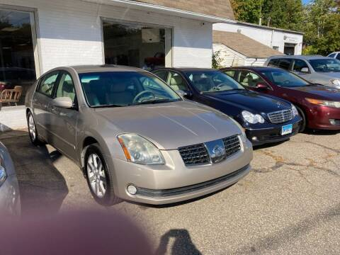 2006 Nissan Maxima for sale at ENFIELD STREET AUTO SALES in Enfield CT