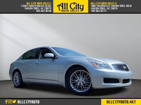 2007 Infiniti G35 for sale at All City Auto Sales in Indian Trail NC