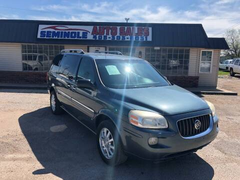 2006 Buick Terraza for sale at Seminole Auto Sales in Seminole OK