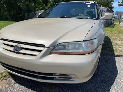 2001 Honda Accord for sale at County Line Car Sales Inc. in Delco NC