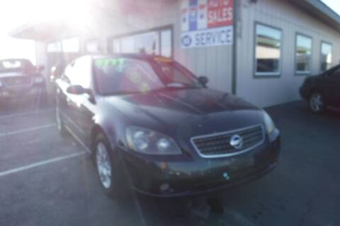 2006 Nissan Altima for sale at 777 Auto Sales and Service in Tacoma WA