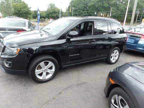2015 Jeep Compass for sale at CAR CORNER RETAIL SALES in Manchester CT