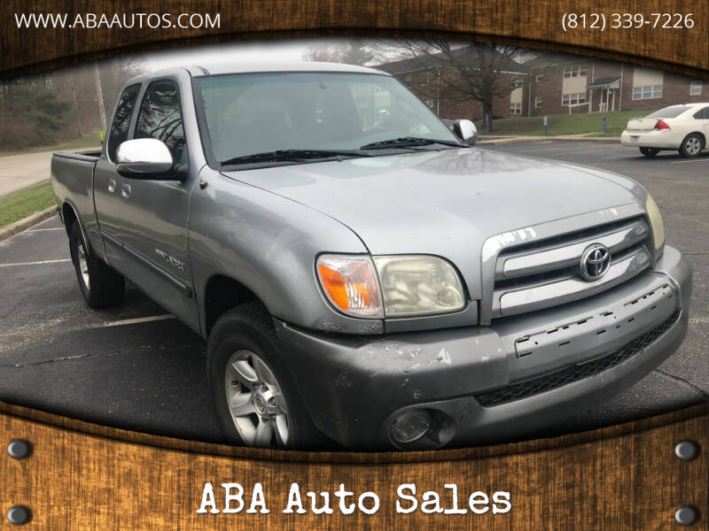 2006 Toyota Tundra for sale at ABA Auto Sales in Bloomington IN
